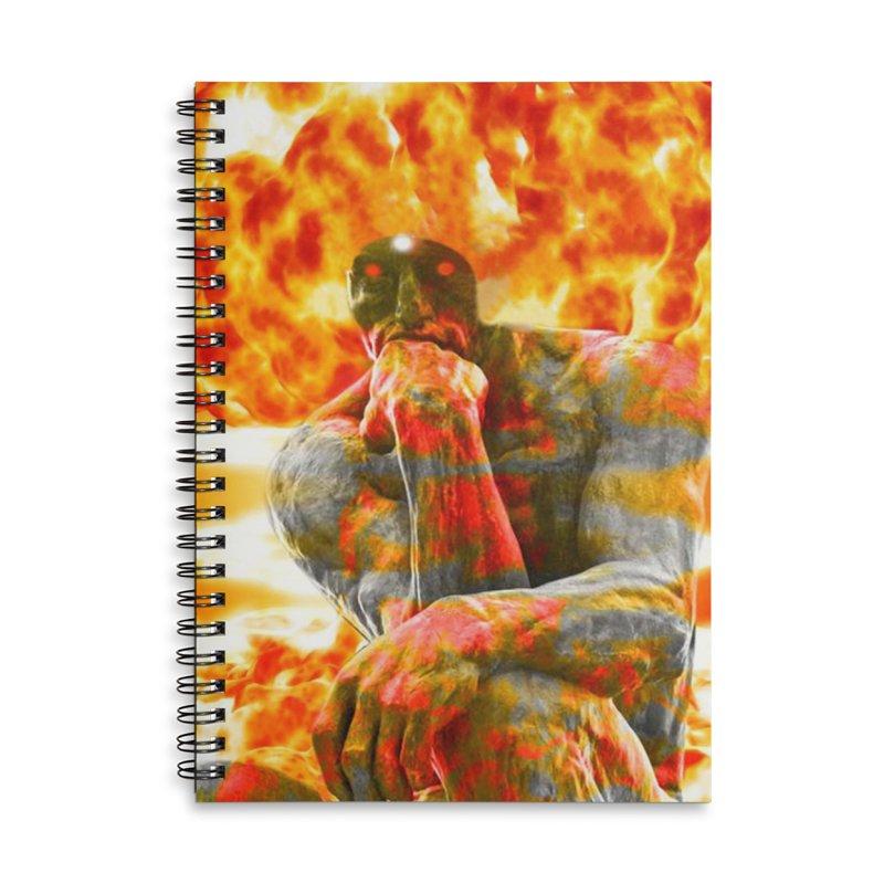 Brainstorm Accessories Lined Spiral Notebook by Matthew Lacey-icarusismartdesigns