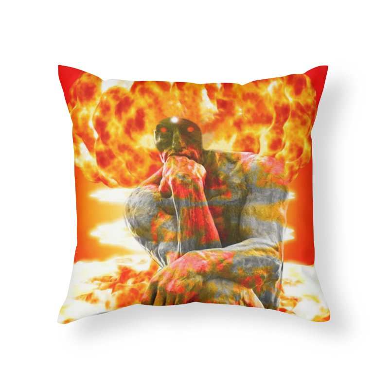 Brainstorm Home Throw Pillow by Matthew Lacey-icarusismartdesigns