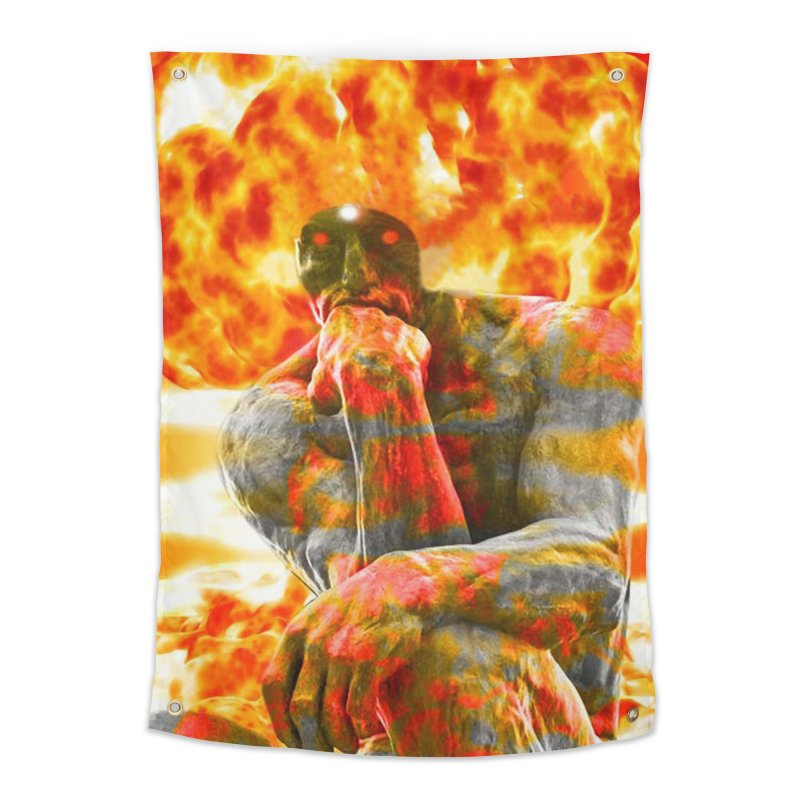 Brainstorm Home Tapestry by Matthew Lacey-icarusismartdesigns