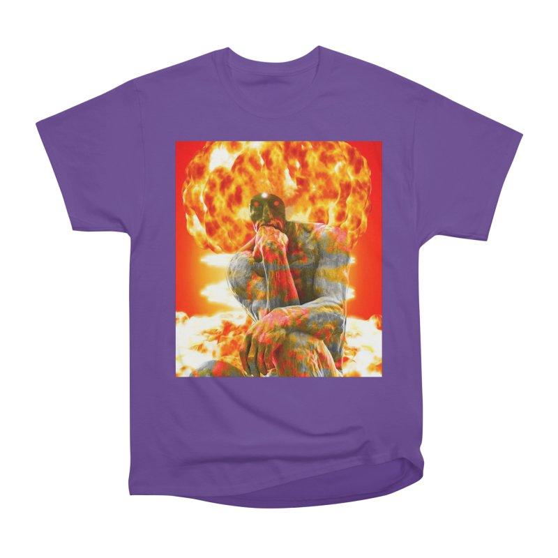Brainstorm Men's Heavyweight T-Shirt by Matthew Lacey-icarusismartdesigns