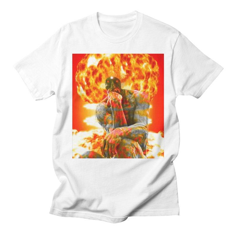 Brainstorm Men's T-Shirt by Matthew Lacey-icarusismartdesigns