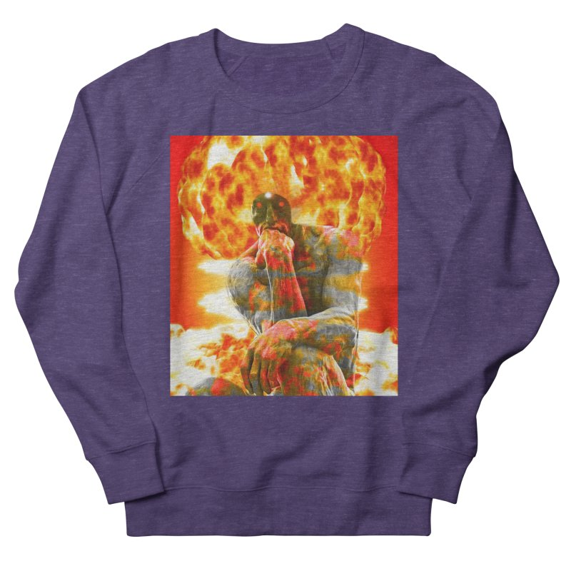 Brainstorm Men's French Terry Sweatshirt by Matthew Lacey-icarusismartdesigns