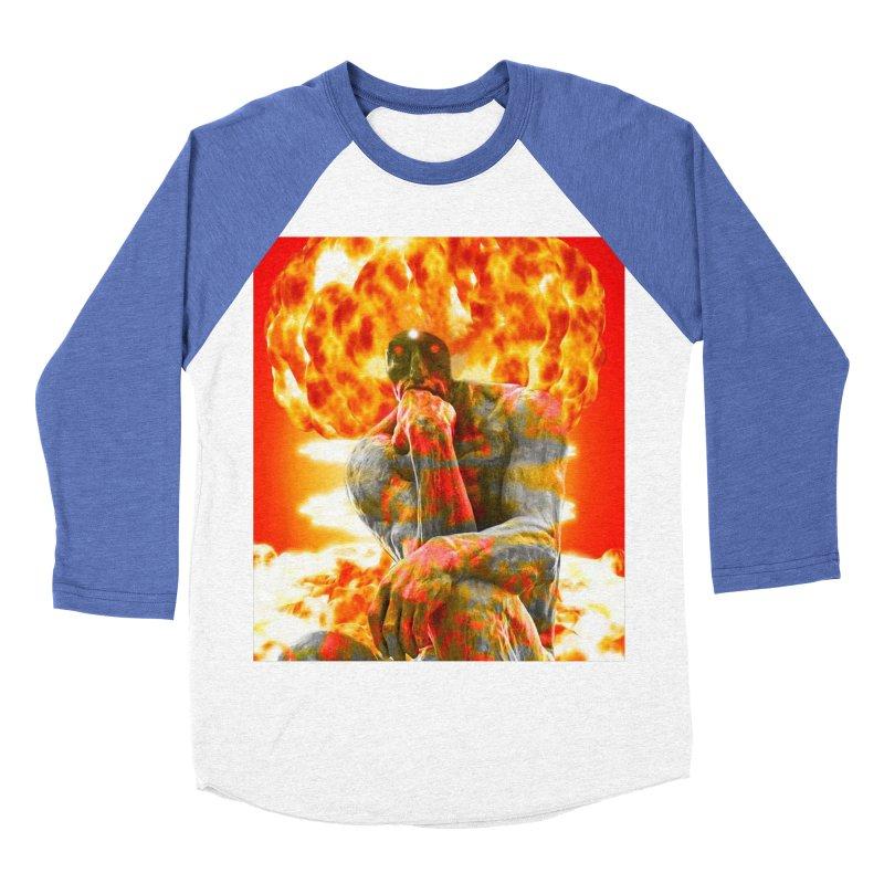 Brainstorm Women's Baseball Triblend Longsleeve T-Shirt by Matthew Lacey-icarusismartdesigns