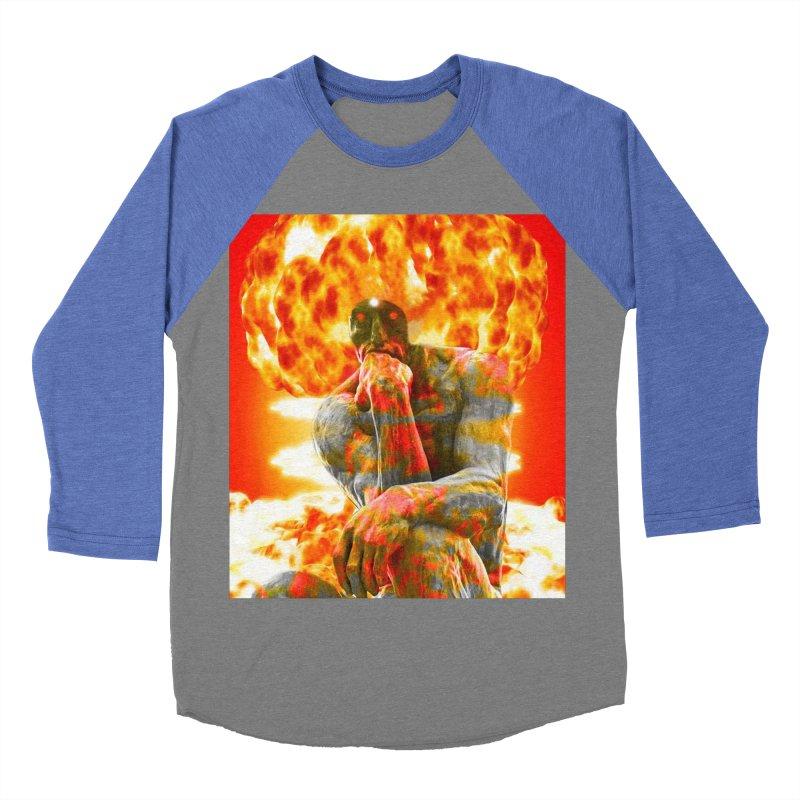 Brainstorm Men's Baseball Triblend Longsleeve T-Shirt by Matthew Lacey-icarusismartdesigns