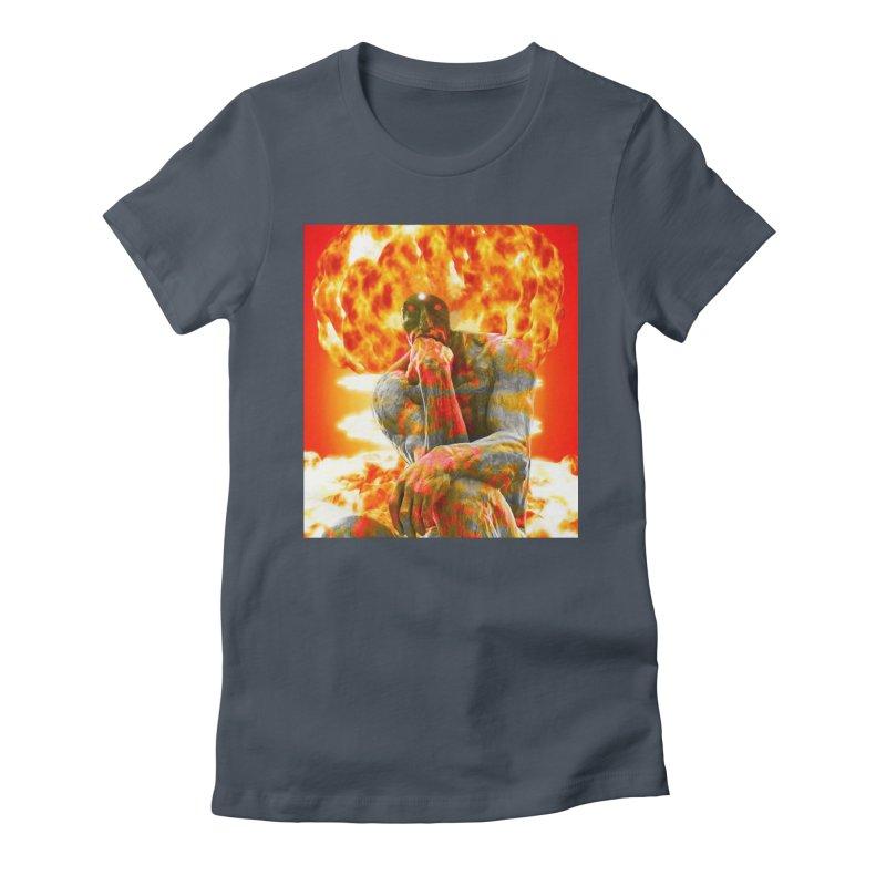 Brainstorm Women's T-Shirt by Matthew Lacey-icarusismartdesigns