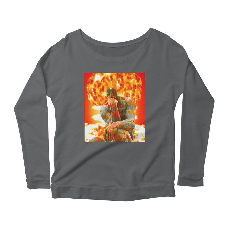 Brainstorm Women's Scoop Neck Longsleeve T-Shirt by Matthew Lacey-icarusismartdesigns