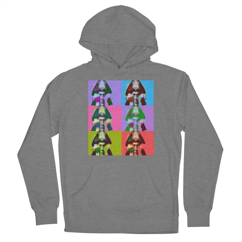 Aleister Crowley Pop Art Women's Pullover Hoody by Matthew Lacey-icarusismartdesigns