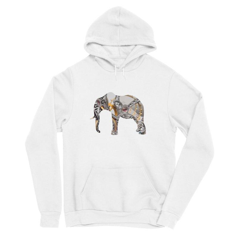 Clockwork Elephant Men's Pullover Hoody by Matthew Lacey-icarusismartdesigns