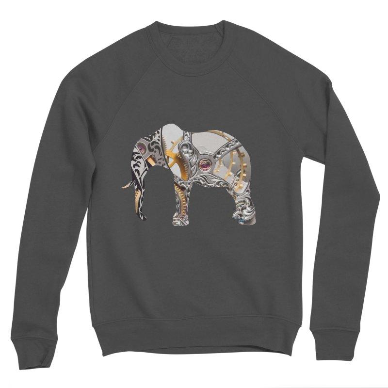 Clockwork Elephant Men's Sweatshirt by Matthew Lacey-icarusismartdesigns