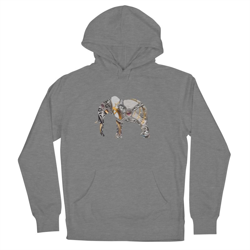 Clockwork Elephant Women's Pullover Hoody by Matthew Lacey-icarusismartdesigns