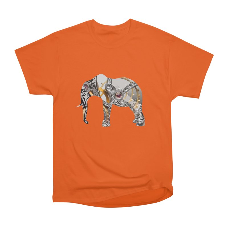 Clockwork Elephant Men's T-Shirt by Matthew Lacey-icarusismartdesigns