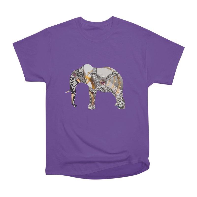 Clockwork Elephant Men's T-Shirt by Matthew Lacey-icarusismartdesigns