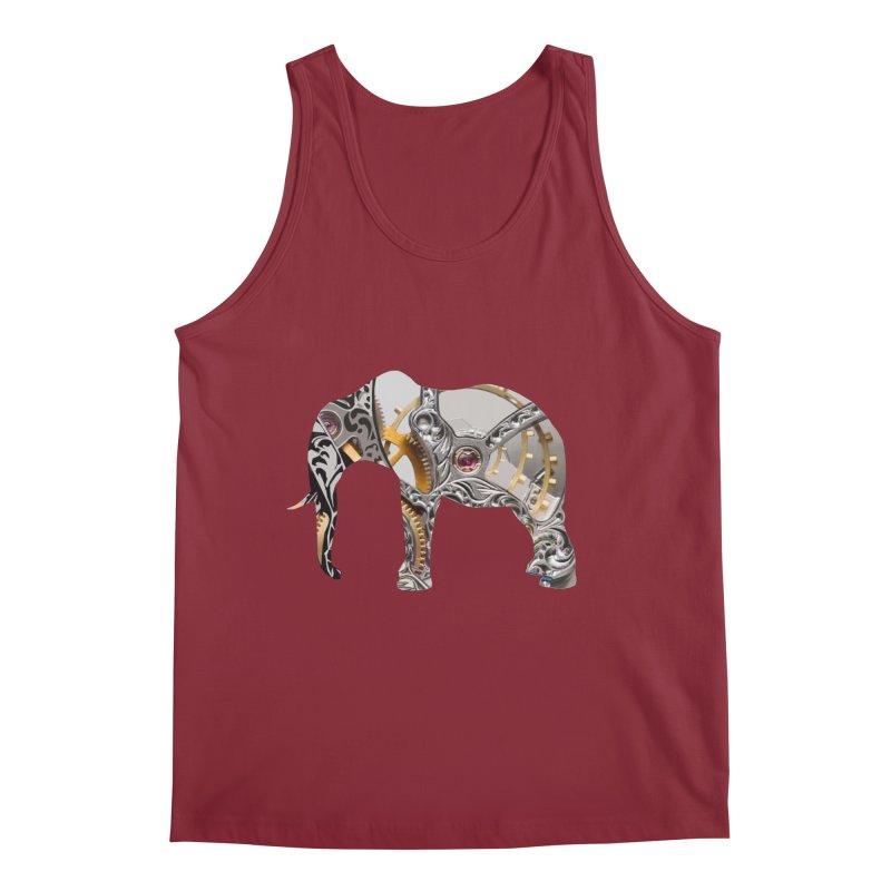 Clockwork Elephant Men's Tank by Matthew Lacey-icarusismartdesigns