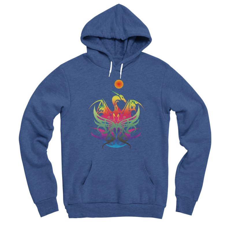 Star Dragon Women's Pullover Hoody by Matthew Lacey-icarusismartdesigns