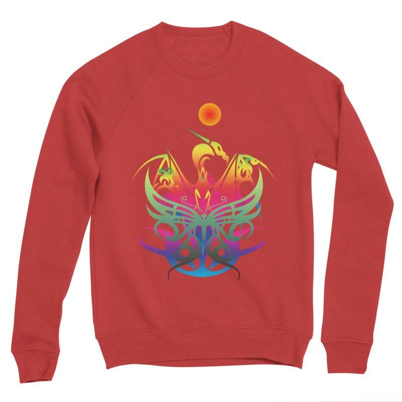 Star Dragon Women's Sweatshirt by Matthew Lacey-icarusismartdesigns