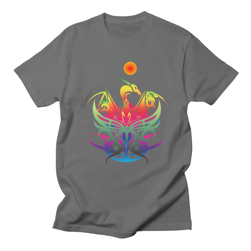 Star Dragon Men's T-Shirt by Matthew Lacey-icarusismartdesigns