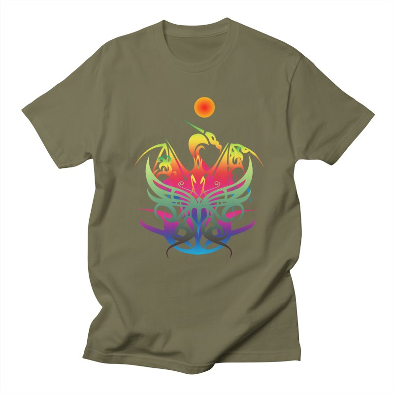 Star Dragon Women's Regular Unisex T-Shirt by Matthew Lacey-icarusismartdesigns