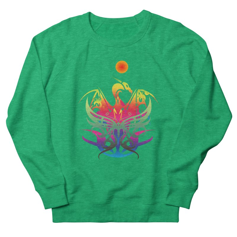 Star Dragon Women's Sweatshirt by Matthew Lacey-icarusismartdesigns