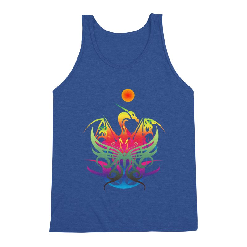 Star Dragon Men's Tank by Matthew Lacey-icarusismartdesigns