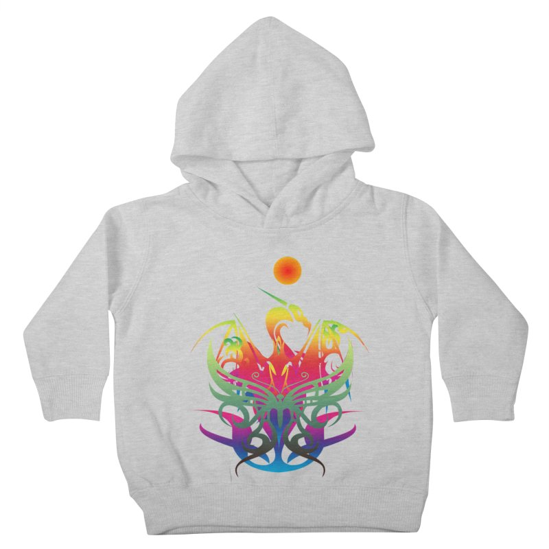 Star Dragon Kids Toddler Pullover Hoody by Matthew Lacey-icarusismartdesigns