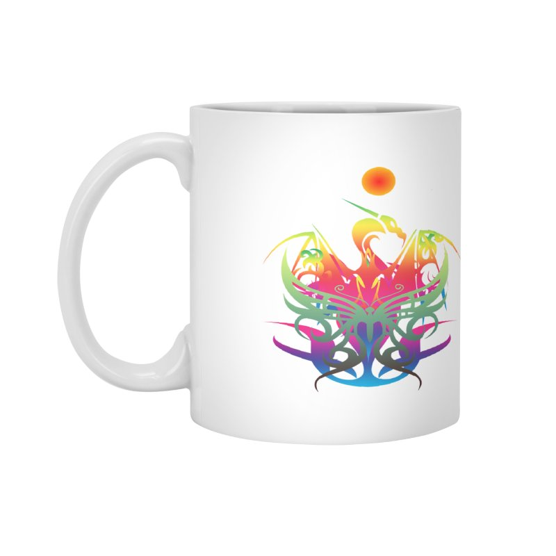Star Dragon Accessories Mug by Matthew Lacey-icarusismartdesigns