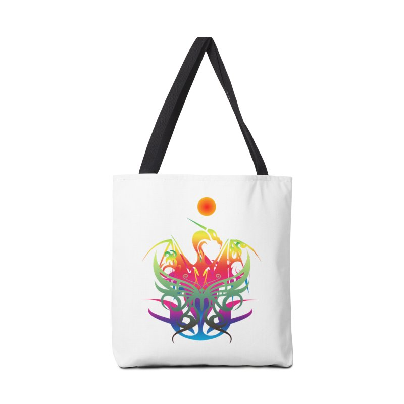 Star Dragon Accessories Tote Bag Bag by Matthew Lacey-icarusismartdesigns