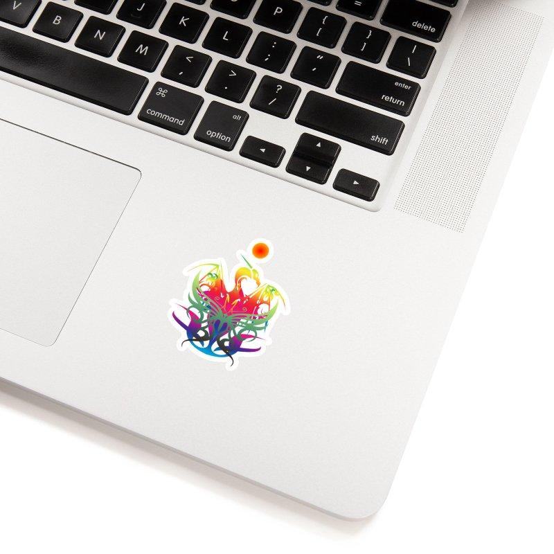 Star Dragon Accessories Sticker by Matthew Lacey-icarusismartdesigns