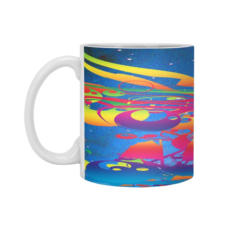 Star Ship Accessories Mug by Matthew Lacey-icarusismartdesigns