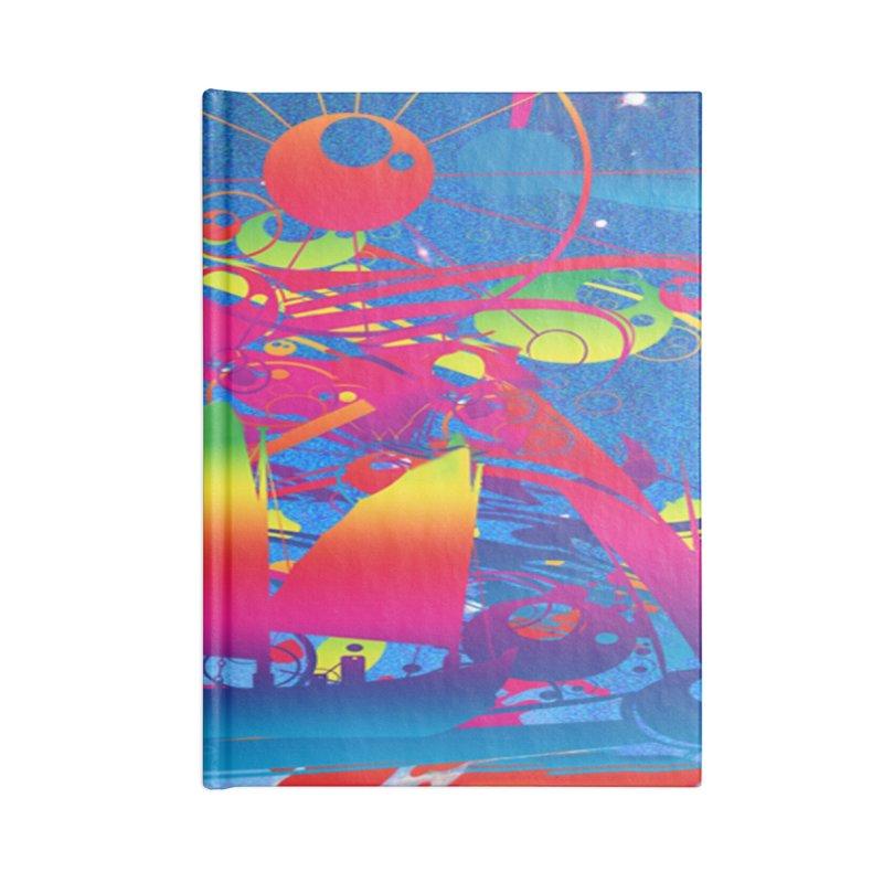 Star Ship Accessories Notebook by Matthew Lacey-icarusismartdesigns