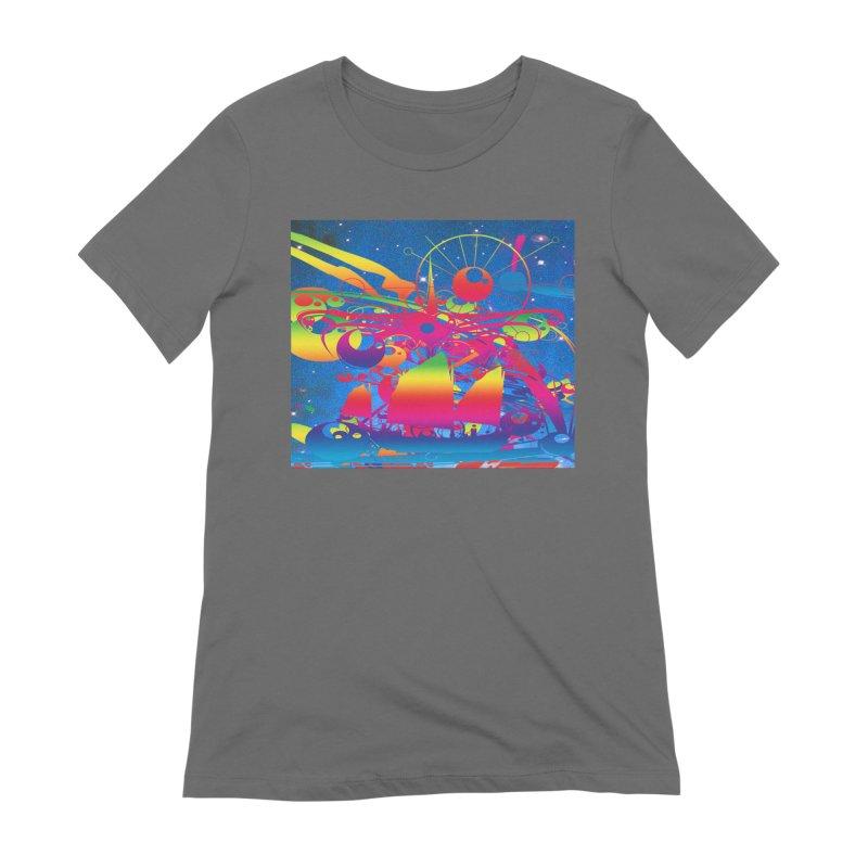 Star Ship Women's T-Shirt by Matthew Lacey-icarusismartdesigns