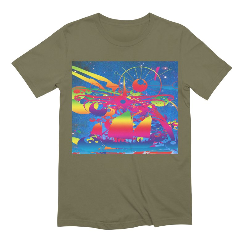 Star Ship Men's Extra Soft T-Shirt by Matthew Lacey-icarusismartdesigns