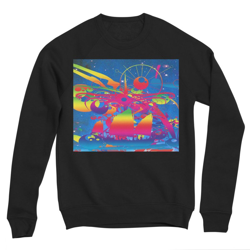Star Ship Women's Sponge Fleece Sweatshirt by Matthew Lacey-icarusismartdesigns