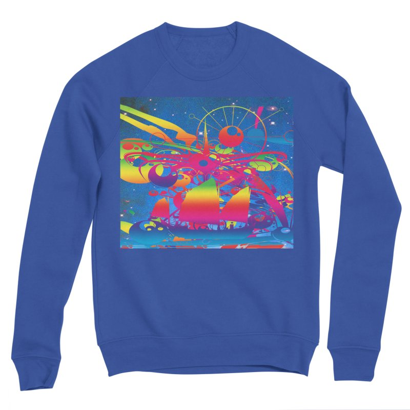 Star Ship Women's Sweatshirt by Matthew Lacey-icarusismartdesigns