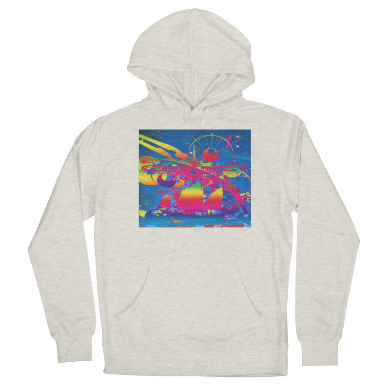 Star Ship Women's Pullover Hoody by Matthew Lacey-icarusismartdesigns