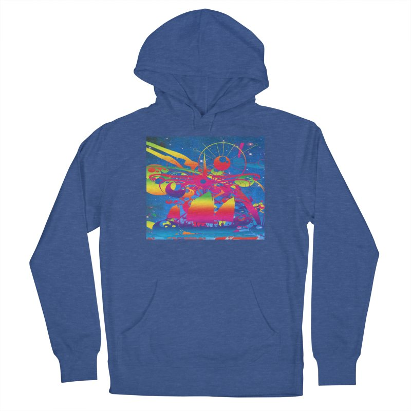 Star Ship Men's Pullover Hoody by Matthew Lacey-icarusismartdesigns