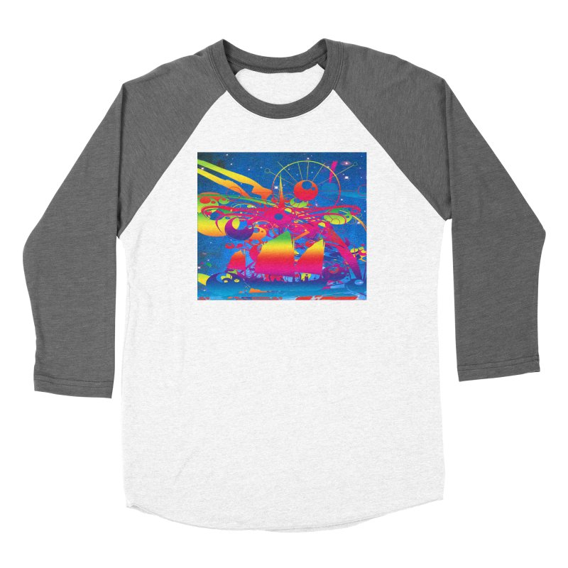 Star Ship Women's Longsleeve T-Shirt by Matthew Lacey-icarusismartdesigns