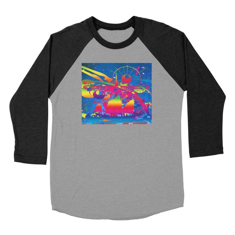 Star Ship Women's Longsleeve T-Shirt by Matthew Lacey-icarusismartdesigns