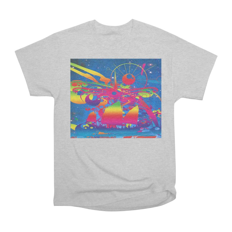Star Ship Men's T-Shirt by Matthew Lacey-icarusismartdesigns