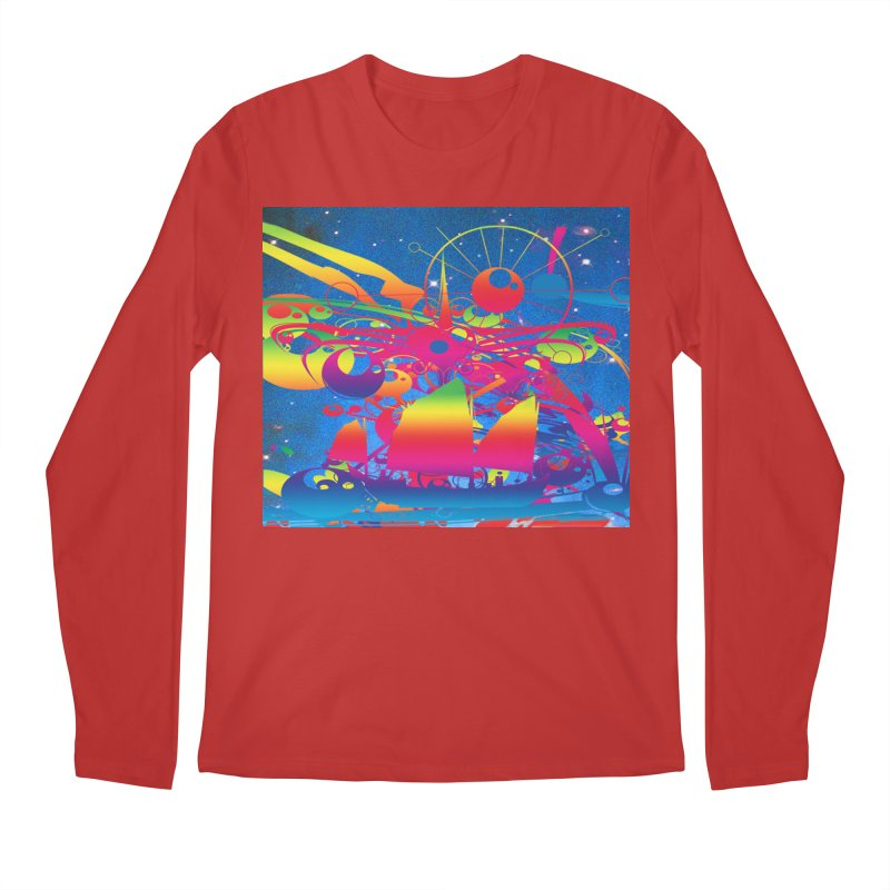 Star Ship Men's Longsleeve T-Shirt by Matthew Lacey-icarusismartdesigns
