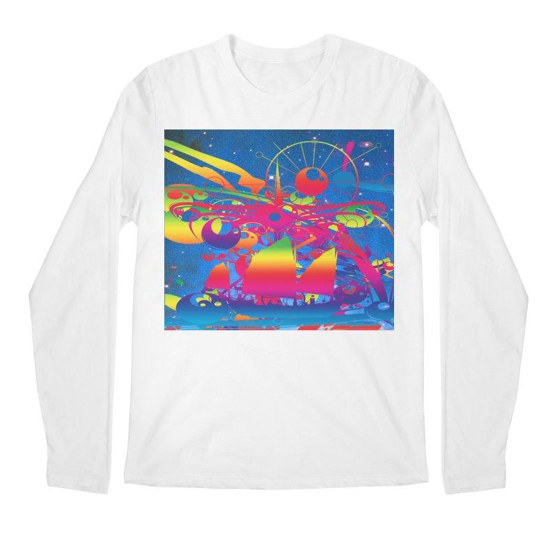 Star Ship Men's Longsleeve T-Shirt by Matthew Lacey-icarusismartdesigns