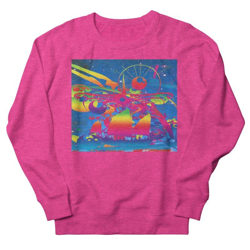 Star Ship Women's Sweatshirt by Matthew Lacey-icarusismartdesigns