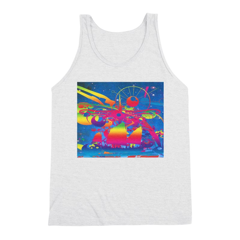 Star Ship Men's Tank by Matthew Lacey-icarusismartdesigns