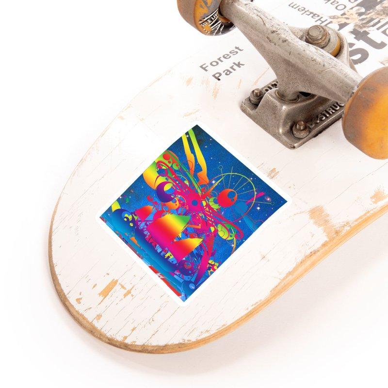Star Ship Accessories Sticker by Matthew Lacey-icarusismartdesigns