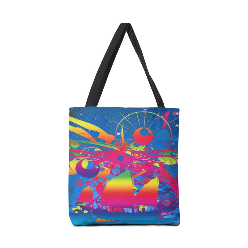 Star Ship Accessories Tote Bag Bag by Matthew Lacey-icarusismartdesigns