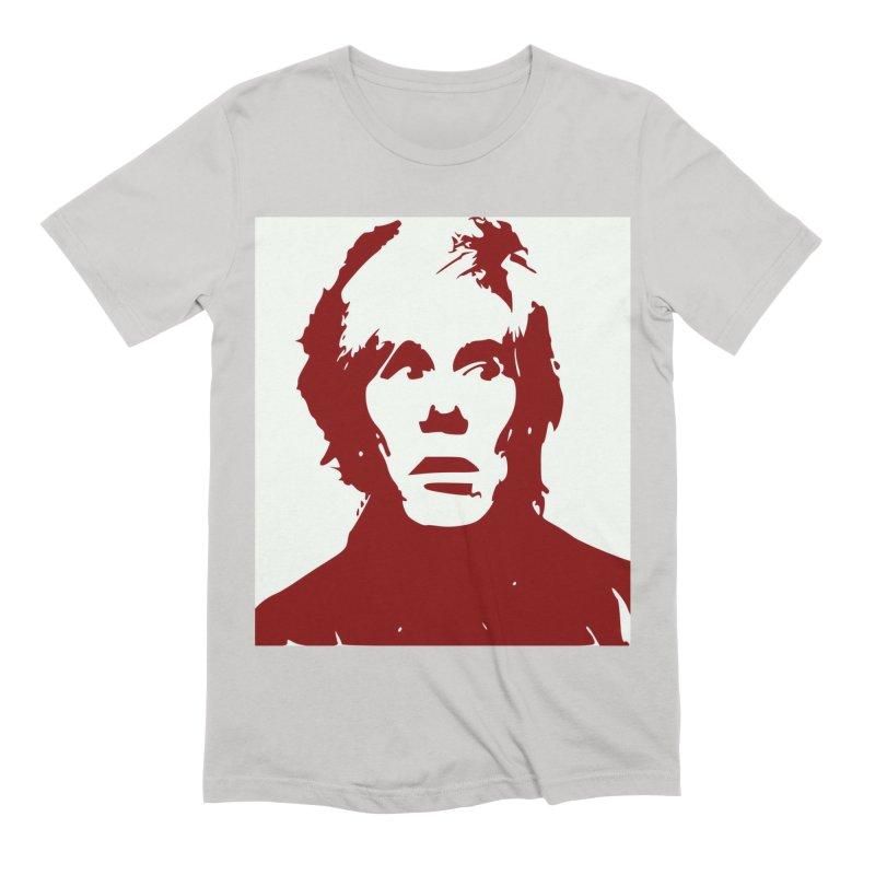 Andy Warhol Men's T-Shirt by Matthew Lacey-icarusismartdesigns