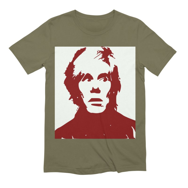 Andy Warhol Men's Extra Soft T-Shirt by Matthew Lacey-icarusismartdesigns