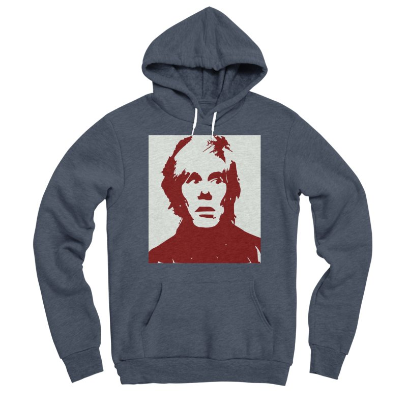 Andy Warhol Men's Pullover Hoody by Matthew Lacey-icarusismartdesigns