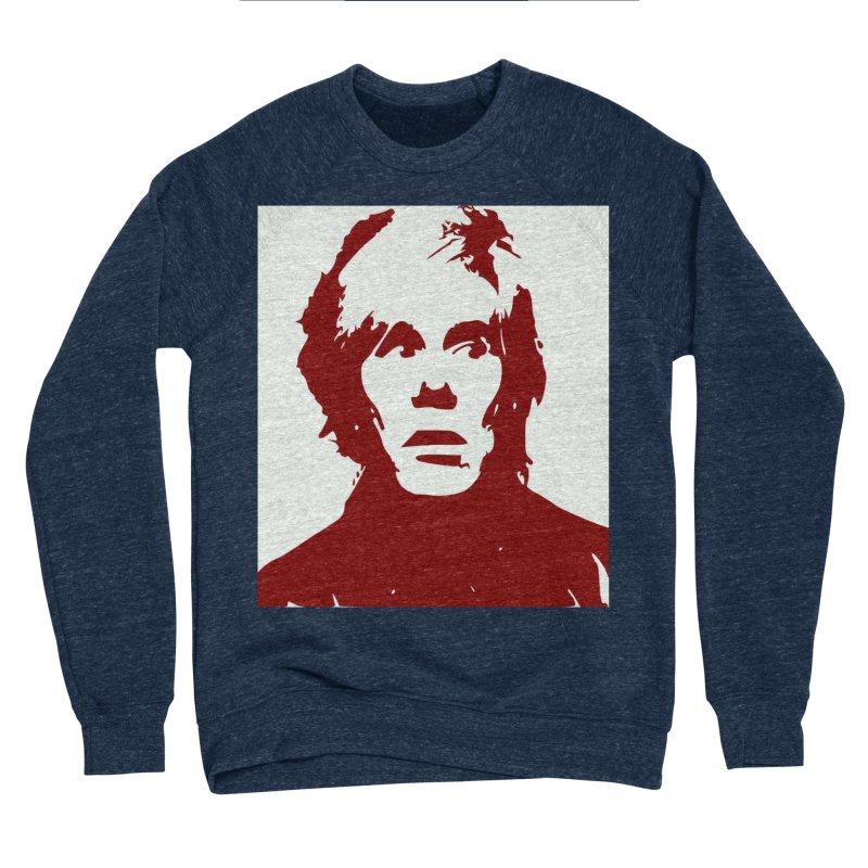 Andy Warhol Women's Sponge Fleece Sweatshirt by Matthew Lacey-icarusismartdesigns