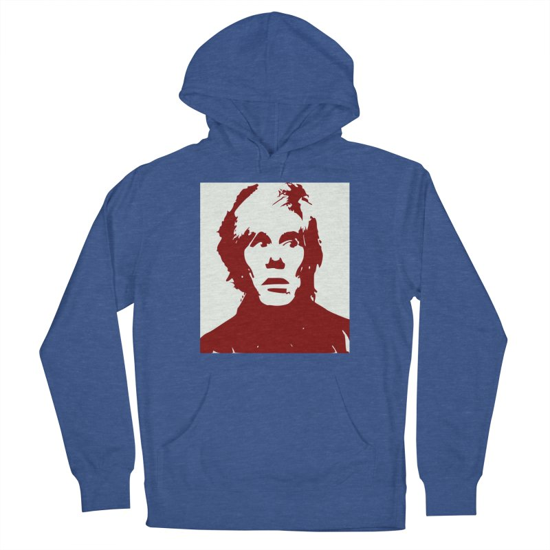 Andy Warhol Women's Pullover Hoody by Matthew Lacey-icarusismartdesigns