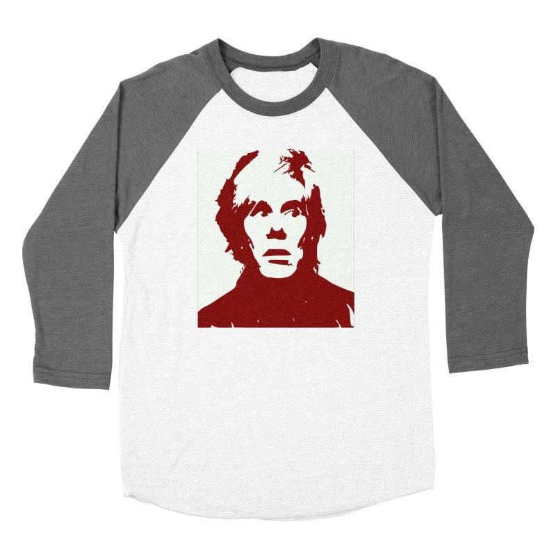 Andy Warhol Women's Longsleeve T-Shirt by Matthew Lacey-icarusismartdesigns